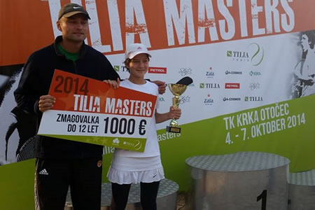 Živa wins the Masters in 12&Under