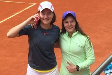In Portugal – win in doubles