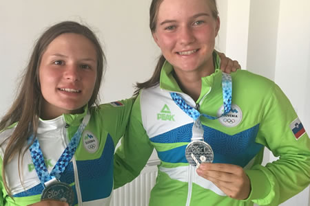 Silver at the European Youth Olympic Festival