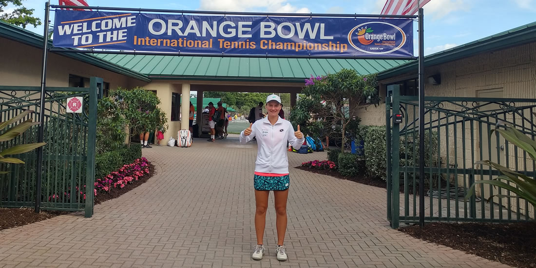 Živa Falkner – member of the ITF/GSDF team on the American Tour