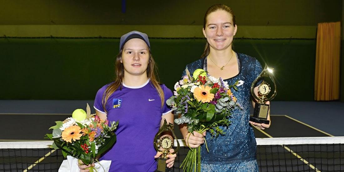 Ziva Falkner - Win in doubles in Bratislava