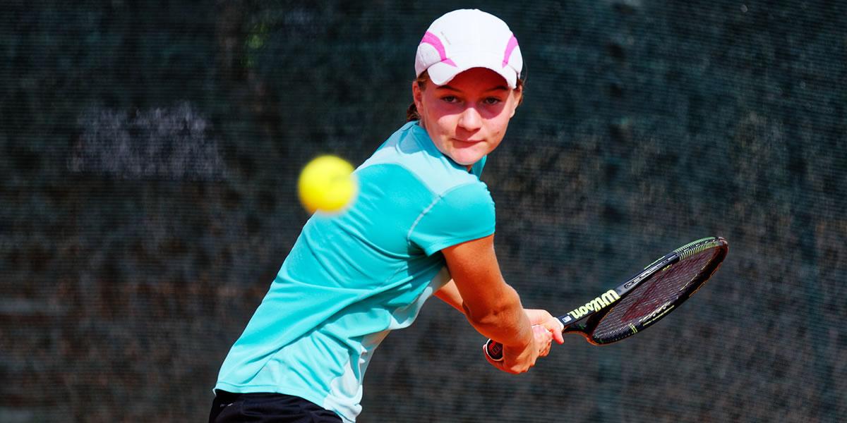 Živa Falkner - 1. mesto ne lestvici Tennis Europe 2016