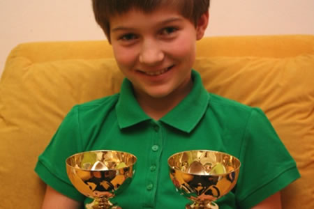 Dvojna državna prvakinja do 12 let