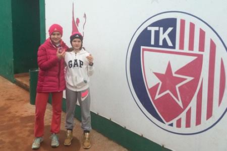 V Beogradu zmagovalka v dvojicah