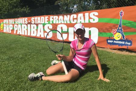 Tretja na prestižnem turnirju v Parizu