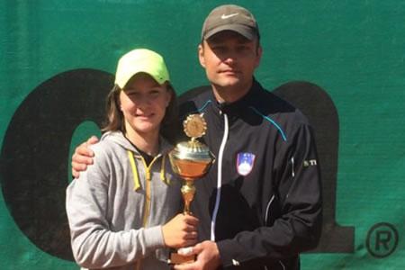 Zmagovalka turnirja 1. ranga na Slovaškem