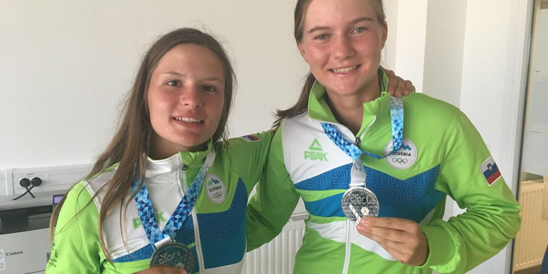 Srebro na olimpijskem festivalu evropske mladine