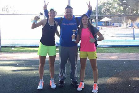 Zmaga v dvojicah na mladinskem ITF turnirju v Izraelu