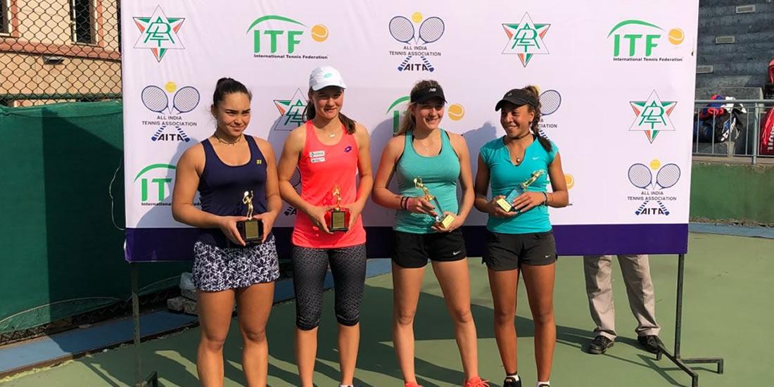 Živa Falkner - Polfinale in finale v Indiji