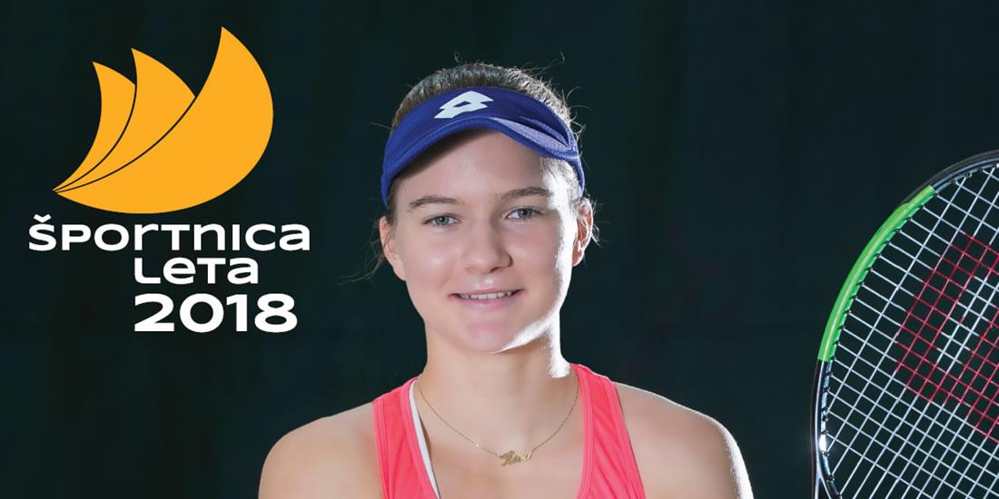 Živa Falkner - Športnica leta 2018