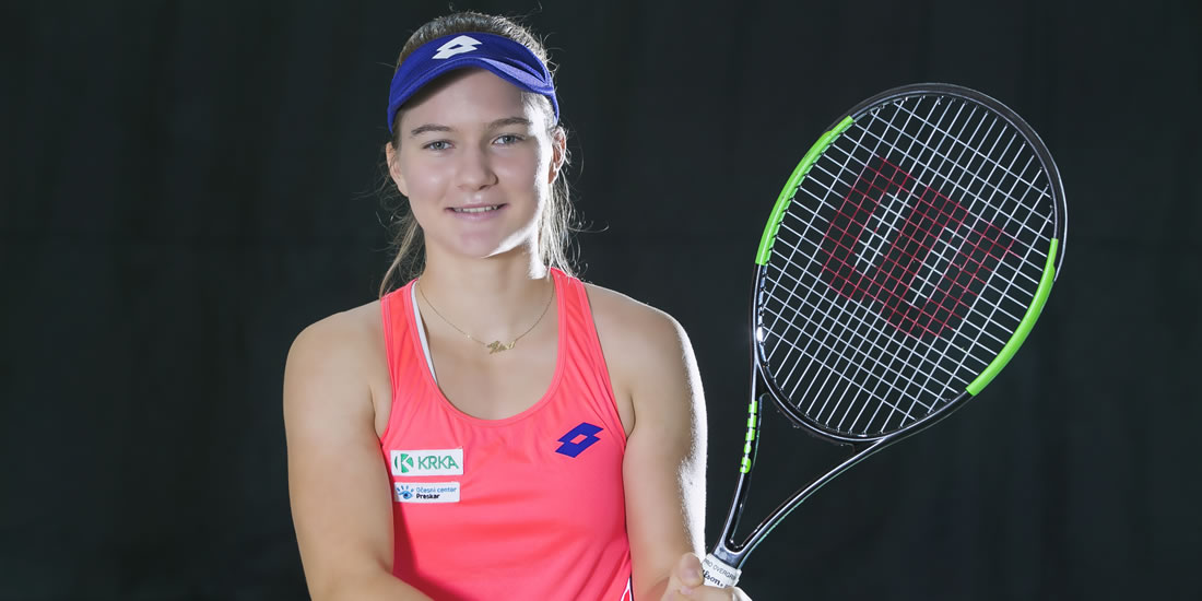 Živa Falkner - Četrtfinalistka v grškem Heraklionu